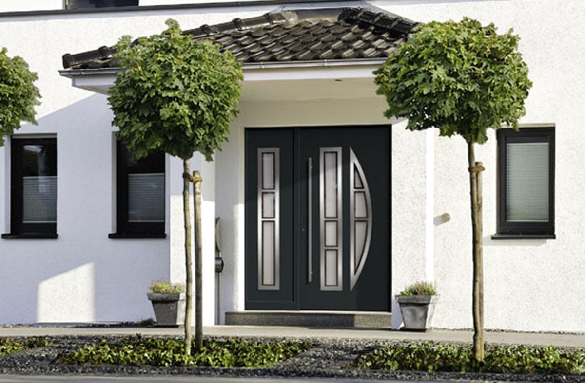 aluminium haust r mit querstreben in d form bauwiki. Black Bedroom Furniture Sets. Home Design Ideas