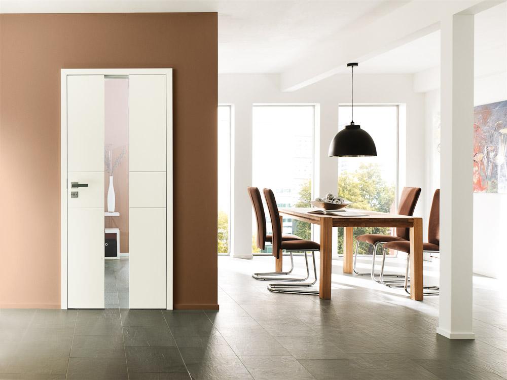 moderne wei e t r mit rechteckiger bodenlanger verglasung bauwiki. Black Bedroom Furniture Sets. Home Design Ideas